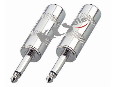 KLS1-PLG-012  2.5mm Mono Audio Plug & 3.5mm Mono Audio Plug & 6.3mm Mono Audio Plug