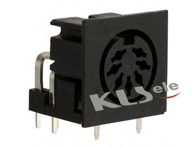 KLS1-293A-5.0 & KLS1-293L-5.0   Din  Audio Socket