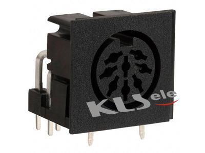 KLS1-293A-10.0 &  KLS1-293L-10.0   Din  Audio Socket