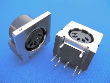 KLS1-292A-10.0  &  KLS1-292L-10.0   Din  Audio Socket