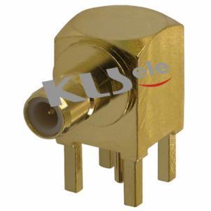 KLS1-SMB001 PCB Mount SMB Connector (Jack, Male,50Ω)