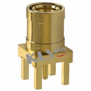 KLS1-SMB002 PCB Mount SMB Connector (Plug,Female,50Ω)