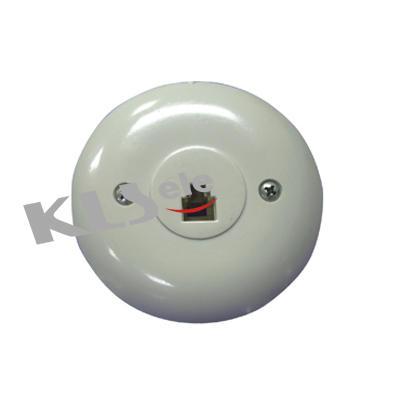 KLS12-010-6P4C KLS12-010-6P6C Flush Mount Phone Jack
