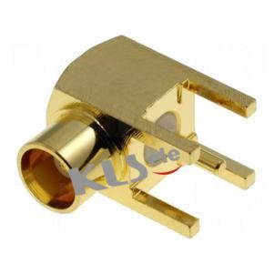 KLS1-MCX001 / KLS1-MCX001B PCB Mount MCX Connector (Jack,Female,50Ω And 75Ω)
