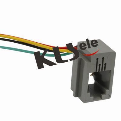KLS12-199-4P Wired Modular Jack 616E