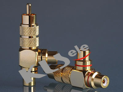 KLS1-RCA-109   Neutrik RCA Audio Socket