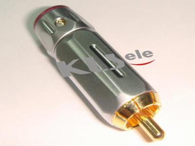 KLS1-RCA-PM16     Gold Plated RCA Phono Audio Plug
