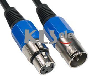 KLS1-XLR-P04    XLR Plug Audio Connector