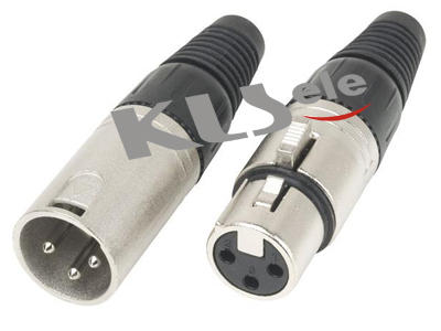 KLS1-XLR-P05     XLR Plug Audio Connector