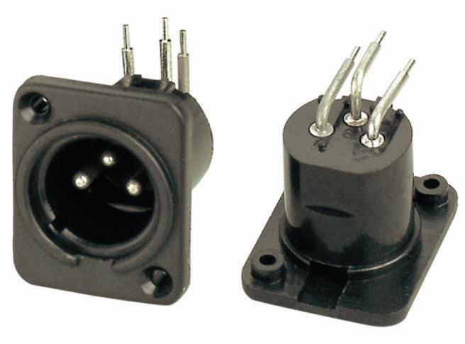 KLS1-XLR-S01   XLR  Audio Socket Connector