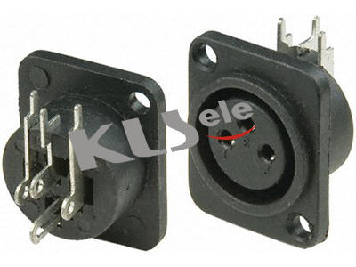 KLS1-XLR-S03    XLR  Audio Socket Connector
