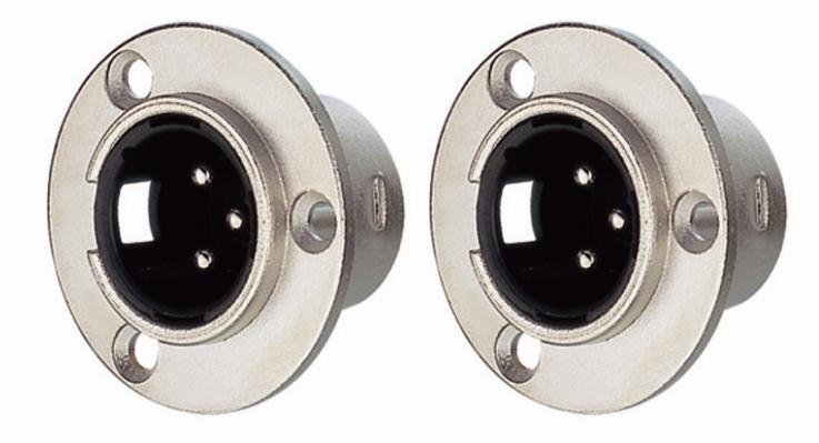 KLS1-XLR-S04    XLR  Audio Socket Connector