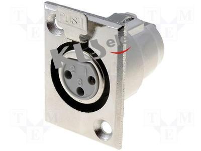 KLS1-XLR-S07    XLR  Audio Socket Connector
