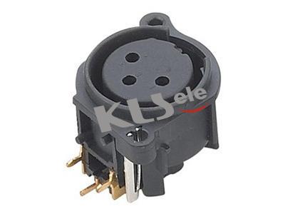 KLS1-XLR-S09     XLR  Audio Socket Connector