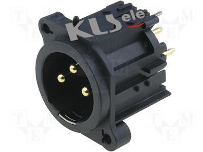 KLS1-XLR-S11     XLR Audio Panel Socket