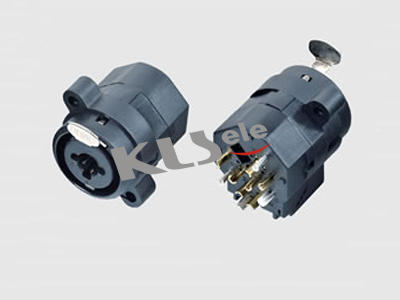 KLS1-XLR-S18     XLR Audio Panel Socket
