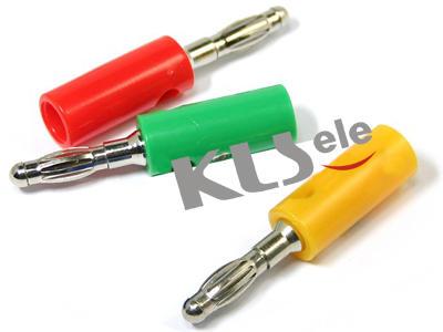KLS1-BAP-010    4mm Banana Audio plug
