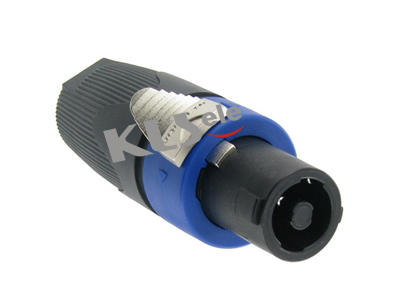 KLS1-SL-4P-02    Audio Loudspeaker Connector 4 Pole