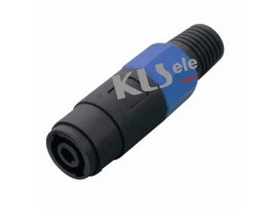 KLS1-SL-4P-05     Audio Loudspeaker Connector 4 Pole