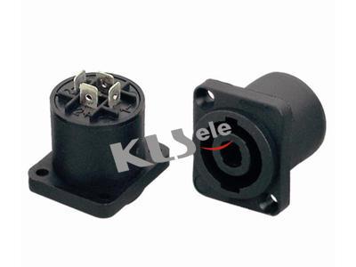 KLS1-SL-4P-07   Audio Speaker Connector 4 Pole