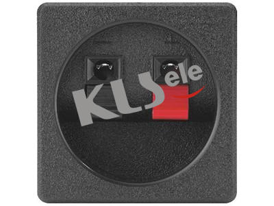 KLS1-WP-2P-05A      Spring Terminals Speaker Video Connectors