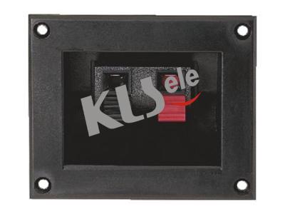 KLS1-WP-2P-06A     Spring Terminals Speaker Video Connectors