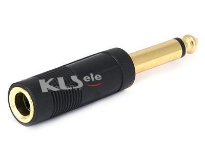 KLS1-PTJ-04  Mono Plug To Mono Video Jack