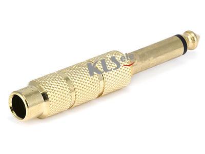 KLS1-PTJ-24   Mono Plug To Mono  Video Jack
