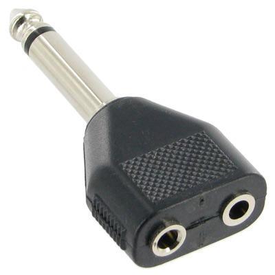 KLS1-PTJ-15  Mono Plug To Mono Jack x2