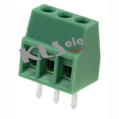 KLS2-308V-2.54 CONN TERM BLK VERT 2.54mm PCB