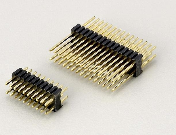 KLS1-207D 1.27x2.54mm Pitch Male Pin Header Connector
