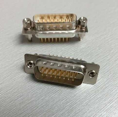 KLS1-321A & KLS1-321B & KLS1-321C & KLS1-321D HDP 3 Row PCB Dip Type D-Sub Connector 15 26 44 62 78 pin male female