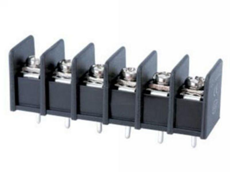 KLS2-25B-7.62 Pitch 7.62mm without Mount Hole Barrier Terminal Blocks