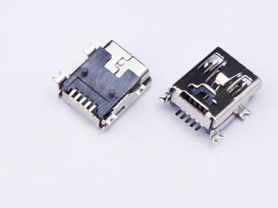 KLS1-229-5FB 5P B type R/A SMD Mini USB connector socket