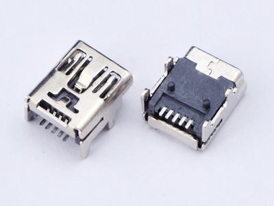KLS1-229-5FD 5P B type R/A SMD Mini USB connector socket